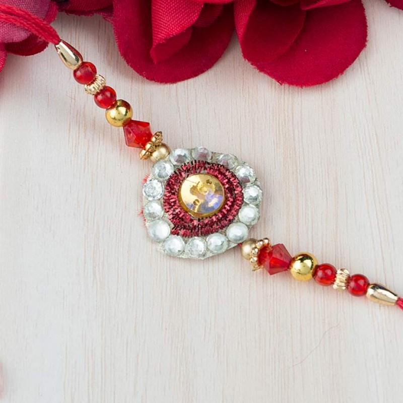 Red Love Rakhi