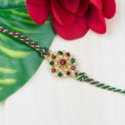 Meenakari Attraction Rakhi