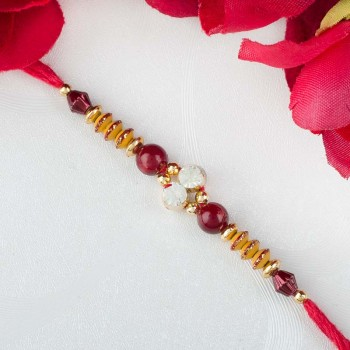 Red and Gold Rakhi