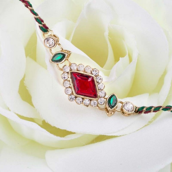 Ruby Touch Rakhi