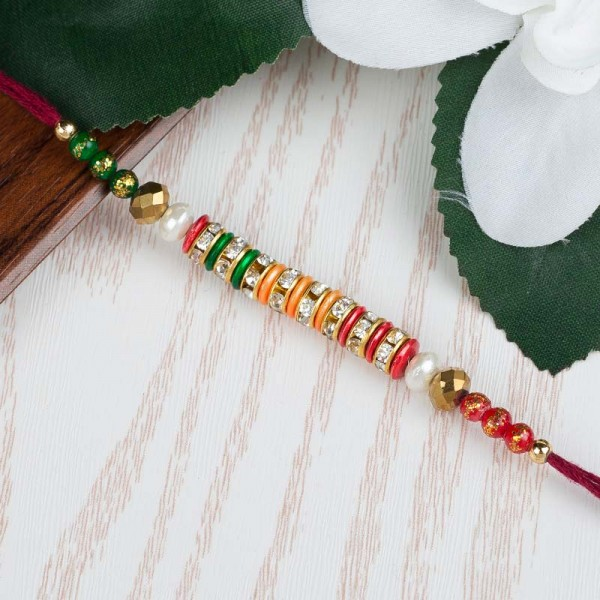Tri Colour Rakhi