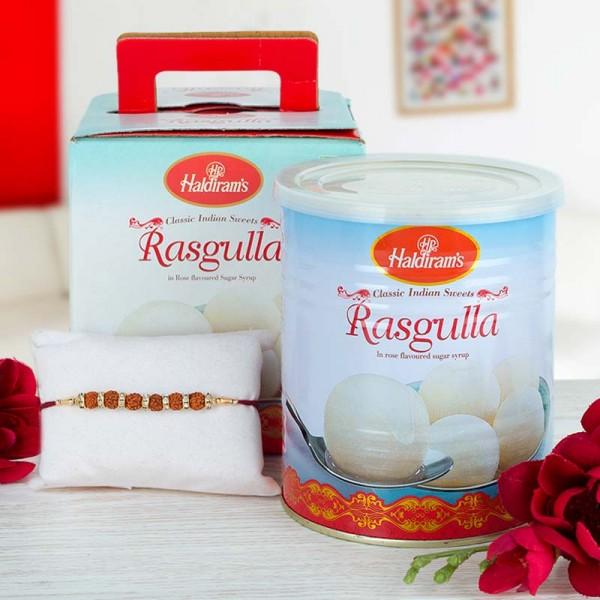 Rasgulla Rakhi Combo