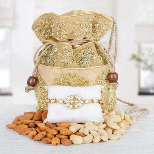Dry Fruits Rakhi Combo