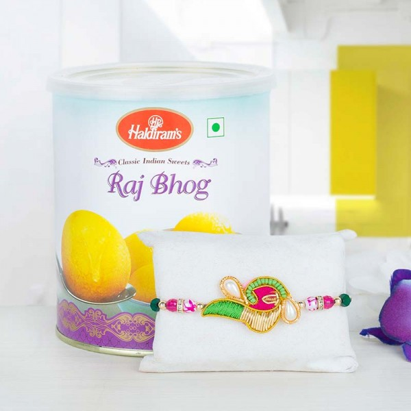 Raj Bhog and Rakhi