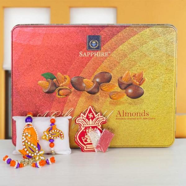 Zardosi and Almonds
