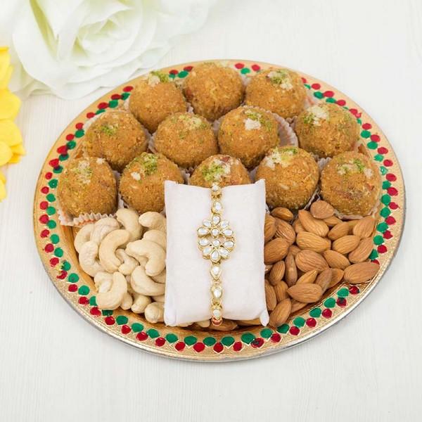 Sweet Kundan Thali