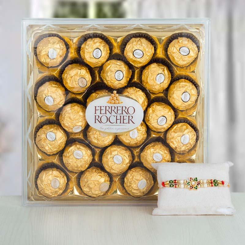 Ferrero Rocher with Meenakari
