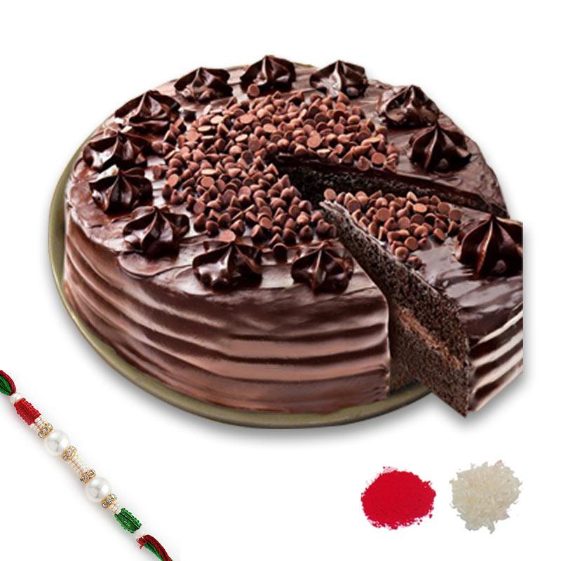 Chocolate Chip Rakhi Combo