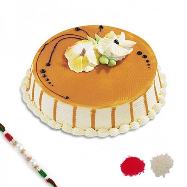 Butterscotch Rakhi Combo