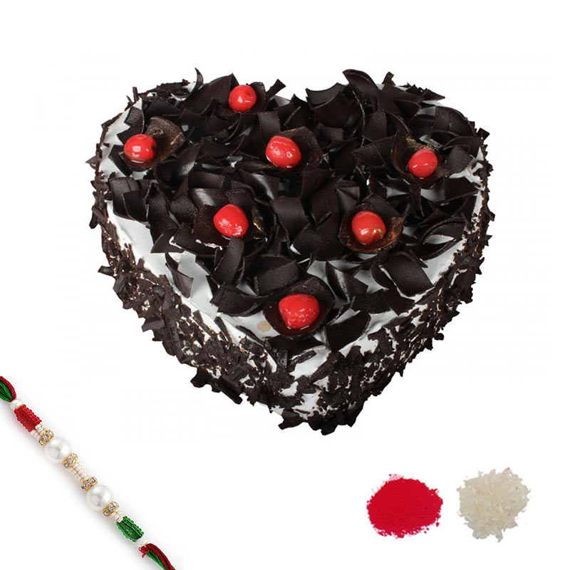 Black Forest Rakhi Hamper