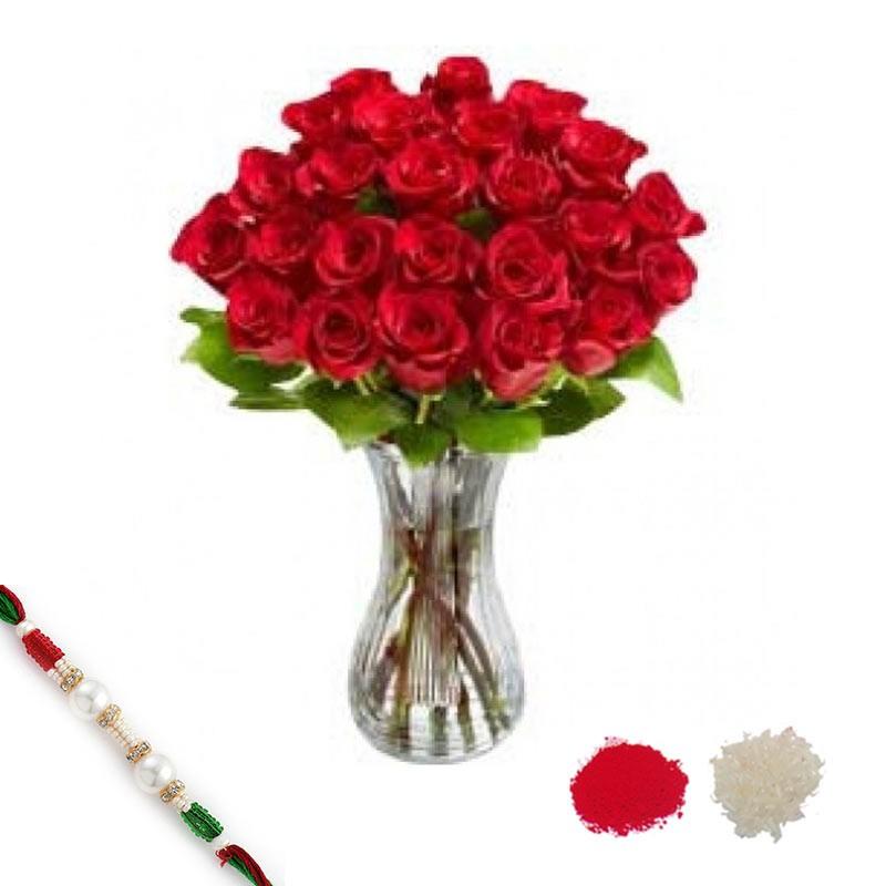 30 CK Roses with Rakhi