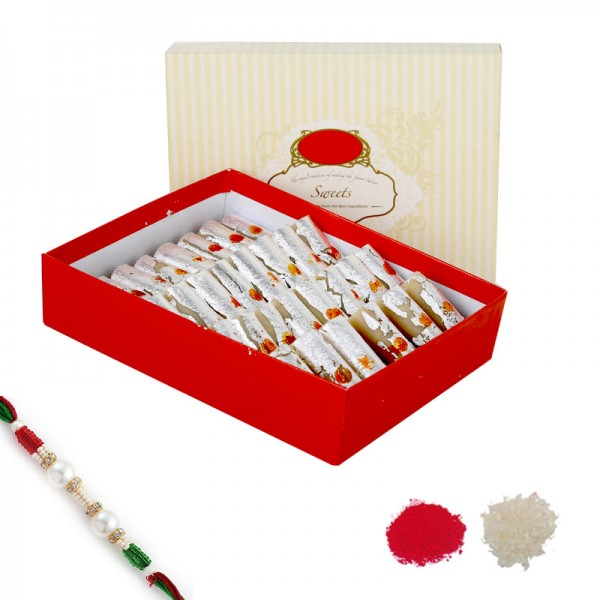 Kaju Roll Rakhi Hamper