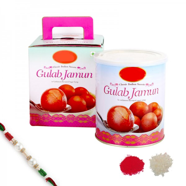 Gulabo Rakhi Combo