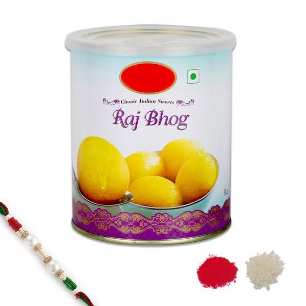 Raj Bhog Rakhi Delight