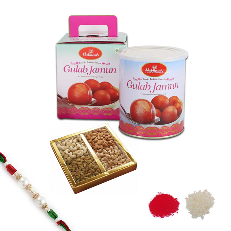 Gulab Jamun and Dry Fruits