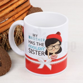 Coolest Sister Love Mug