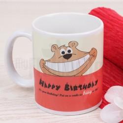Pink Smile Mug