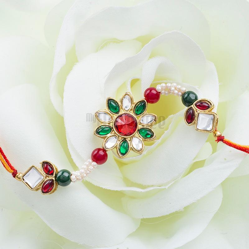 Floral Rakhi