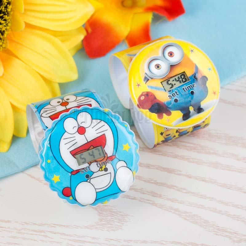 Minion And Doremon Rakhi Set