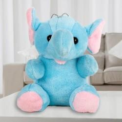 Blue Hanging Elephant
