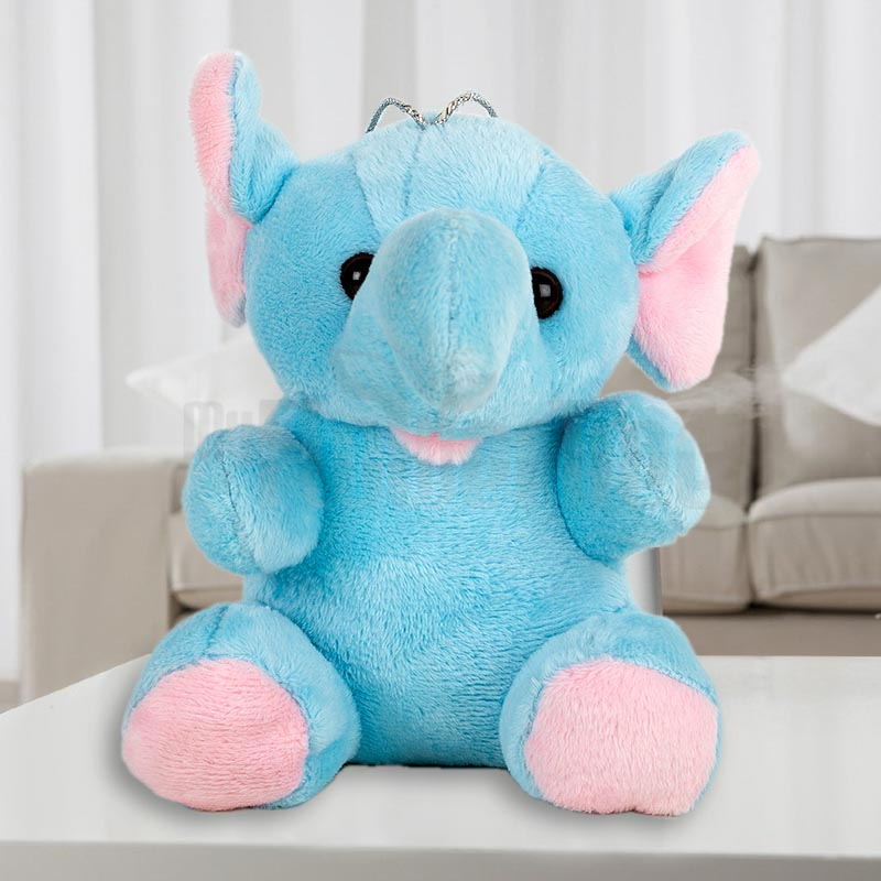 Blue Hanging Elephant