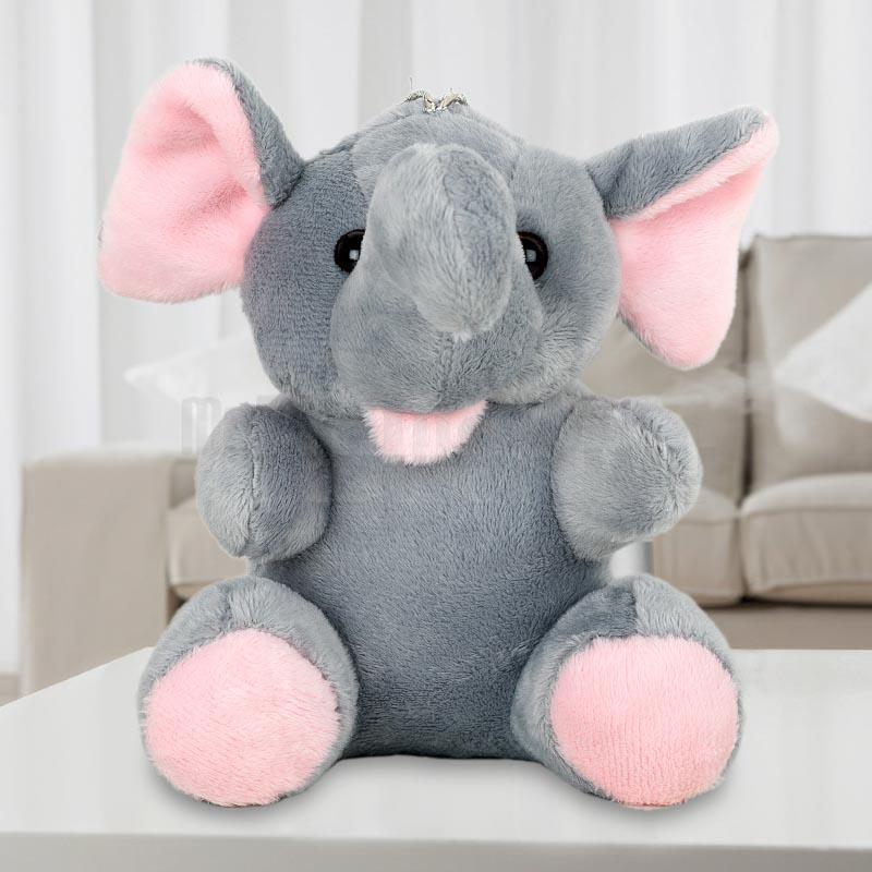 Grey Hanging Elephant