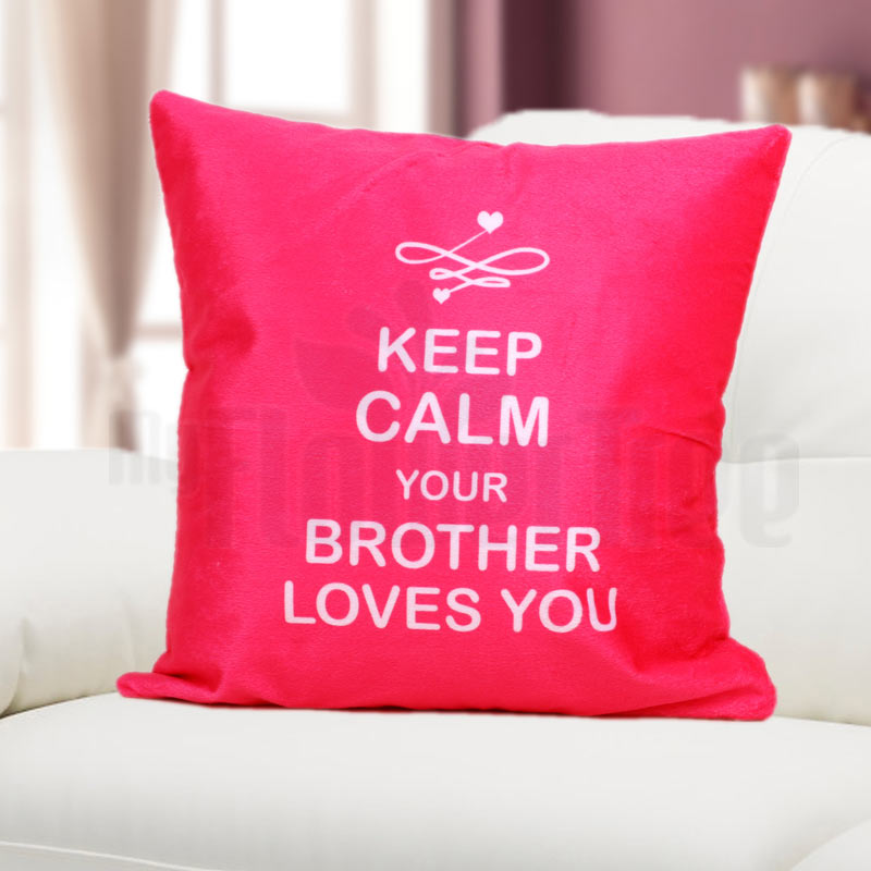 Brother Love Cushion