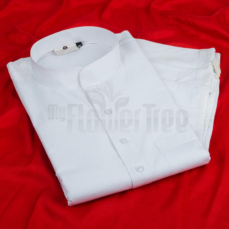 White Kurta Pyjama