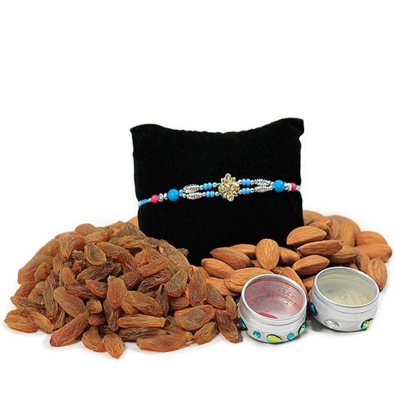 Dryfruits and Traditional Rakhi Hamper