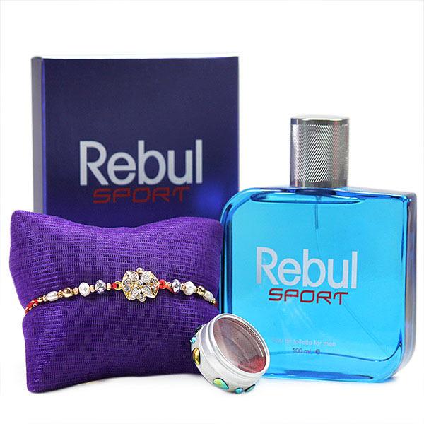 Rebul Perfume n Embellished Rakhi Hamper