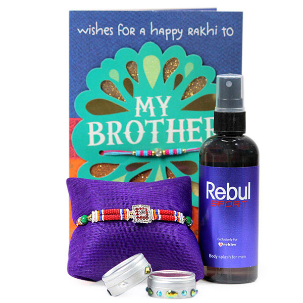 Rebul Perfume with Traditional Rakhi
