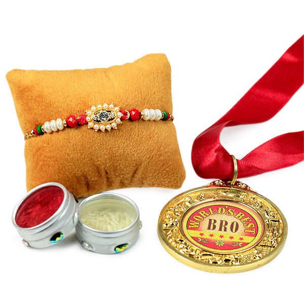 Rakhi Hamper for Worlds Best Bro