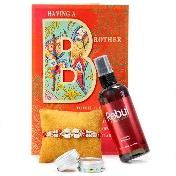 Rebul Body Splash n Rakhi Hamper