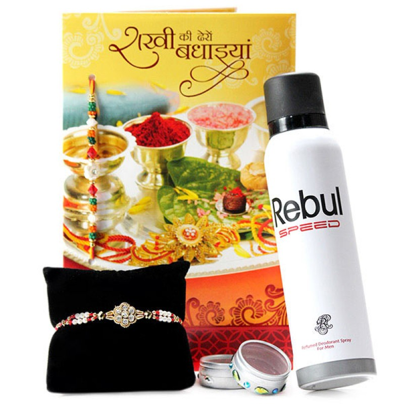 Rebul Perfume n Traditional Rakhi Hamper