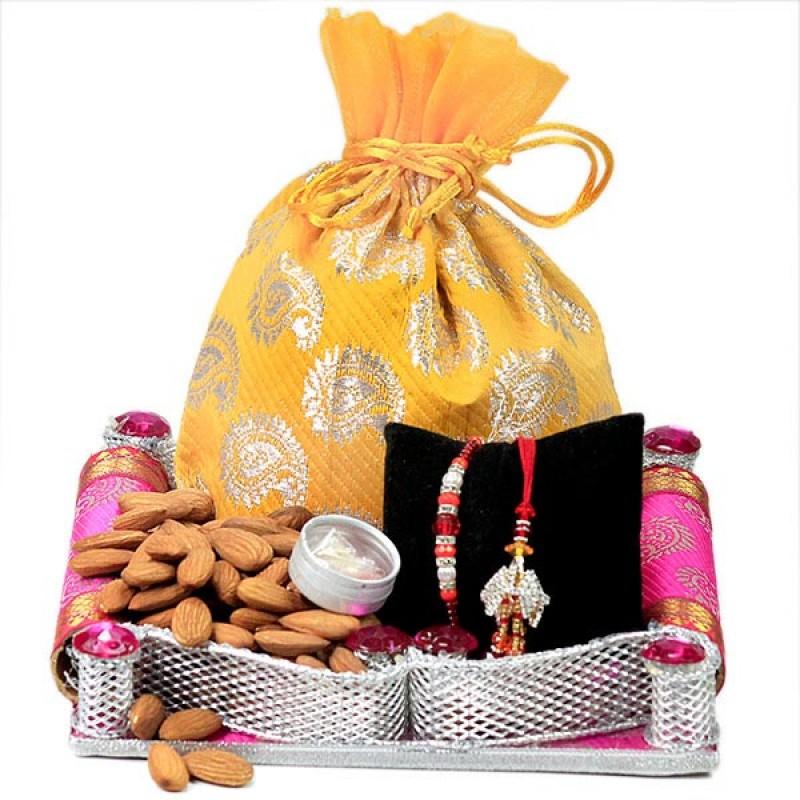 Almonds n Auspicious Rakhis