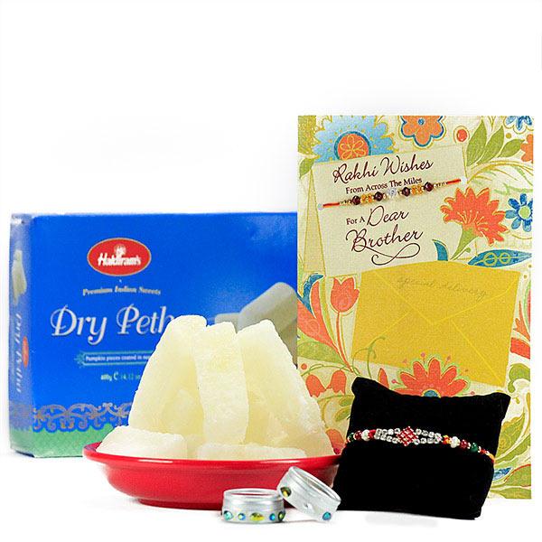 Dry Petha n Rakhi Hamper