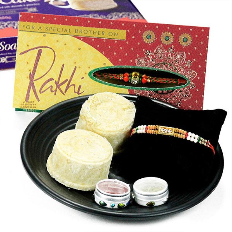 Soan Cake n Beautiful Rakhi