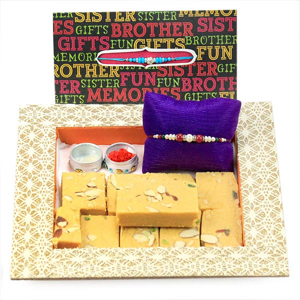 Patisa n Traditional Rakhi Hamper