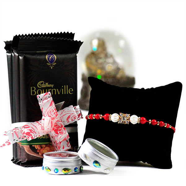 Delicious Chocolates n Rakhi Hamper
