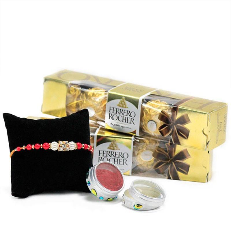 Ferrero Rocher n Rakhi Gift Hamper