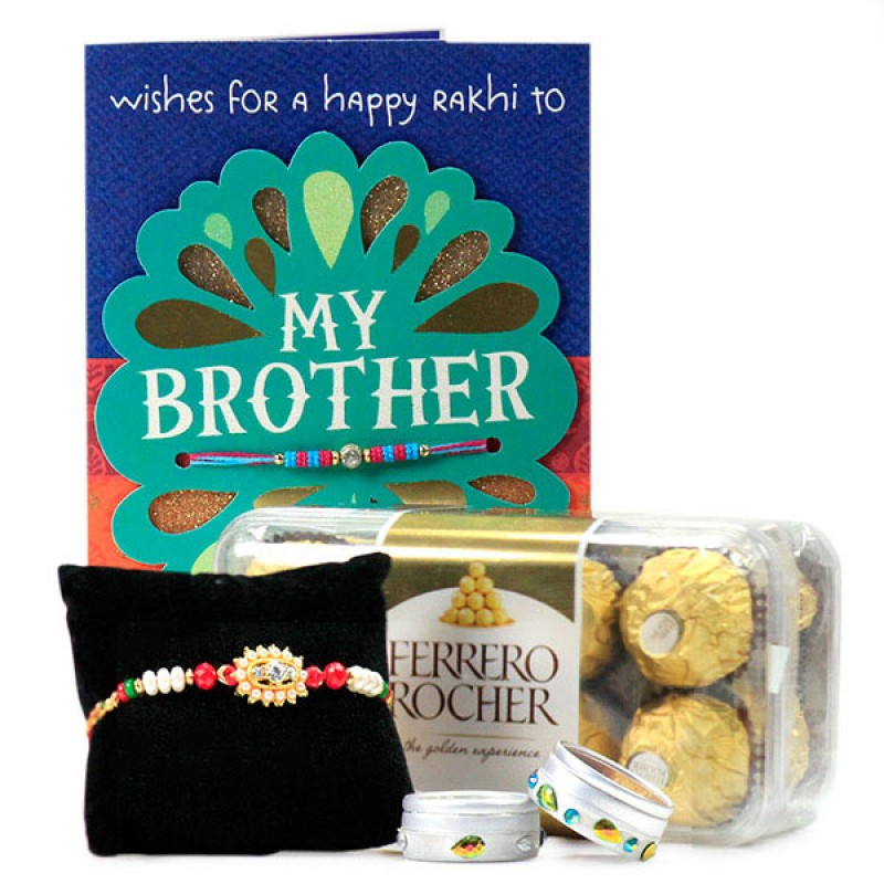 Ferrero Rocher n Traditional Rakhi