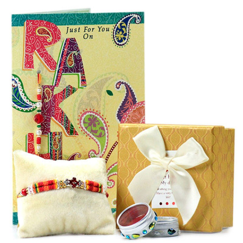 Chocolate Box with Traditional Rakhi