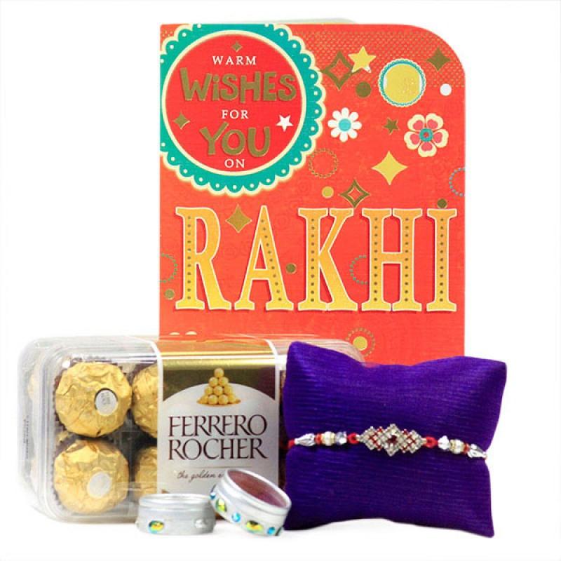 Ferrero Rocher n Rakhi Hamper