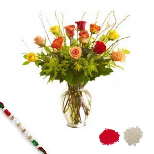 Rakhi Festive Roses