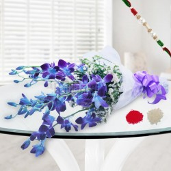 Noble Orchids with Rakhi