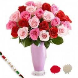Pink n Red meets with Rakhi