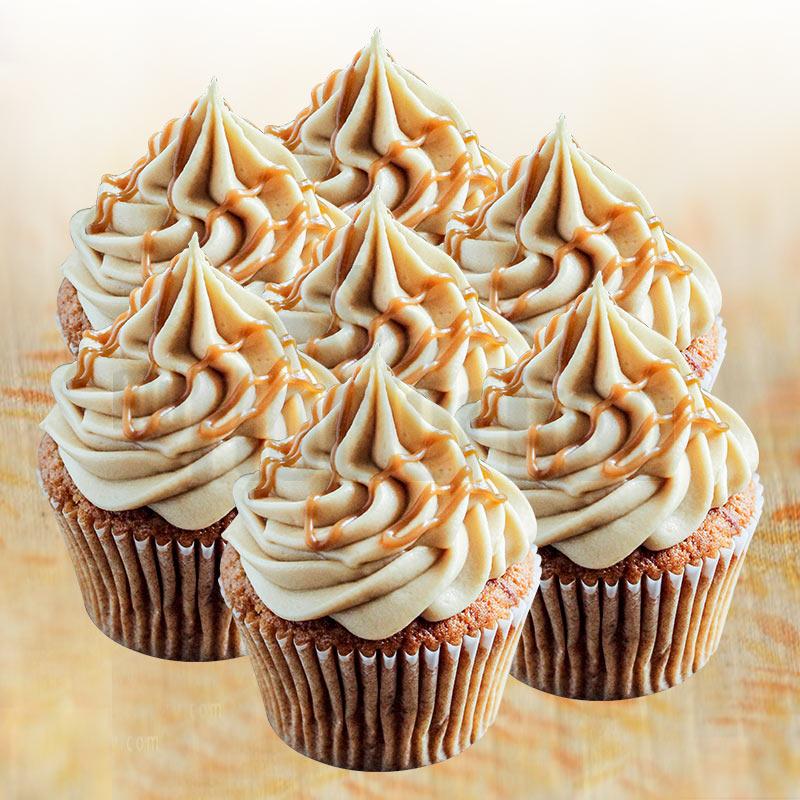 Coffee Caramel Cupcakes