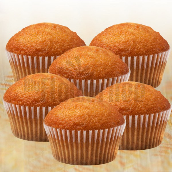 Set of 6 Butter Muffins