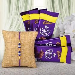 Rakhi N Dairy Milk Combo