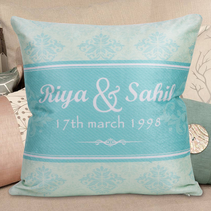 Special Date Cushion